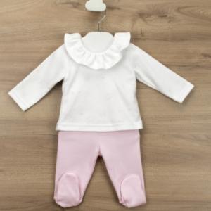 Babidu 2pce cotton set for baby girl foresta