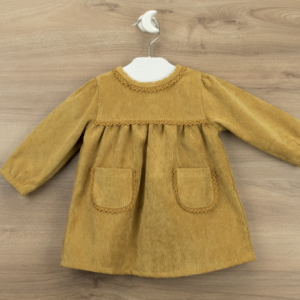 Babidu mustard dress