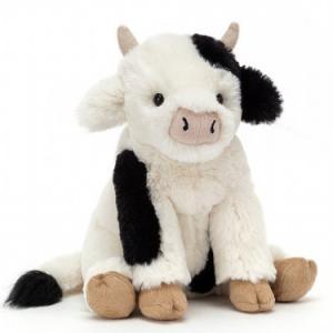 Carey calf, Feeling mellow in the meadow.