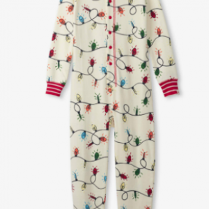 Hatley festive lights all in one pyjama set
