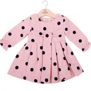 Babybol pink dotty dress
