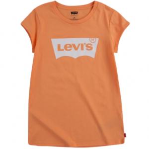 Levi's girls t-shirt with logo - orange