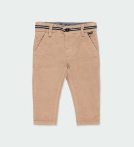 Boboli stretch micro cord trousers beige